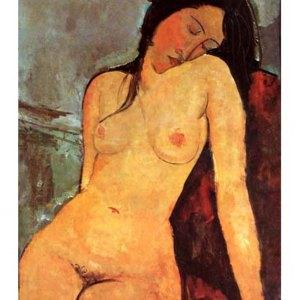 Modigliani Seated nude 2, L.E. Giclee