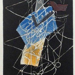 """Braque 6 """"Sur quatre mer"""" Mourlot 1959 Art in posters"""