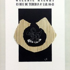 "Braque 1 ""Maeght Galerie 1943"" Mourlot 1959 Art in posters"