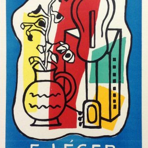 Leger 34, Lithograph Expo 1953, Art in posters