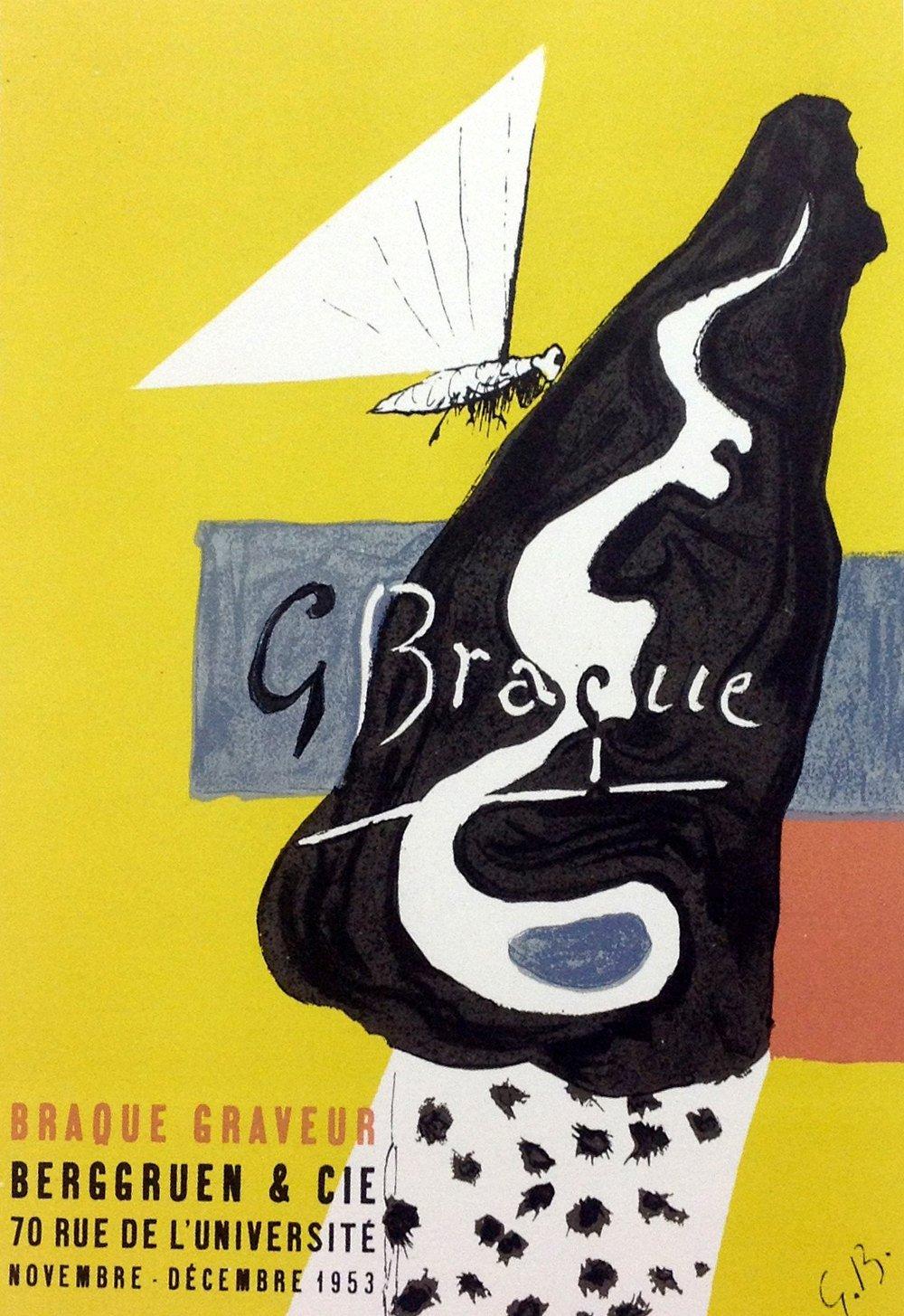 Braque Lithograph 7, Braque-graveur, Mourlot 1959