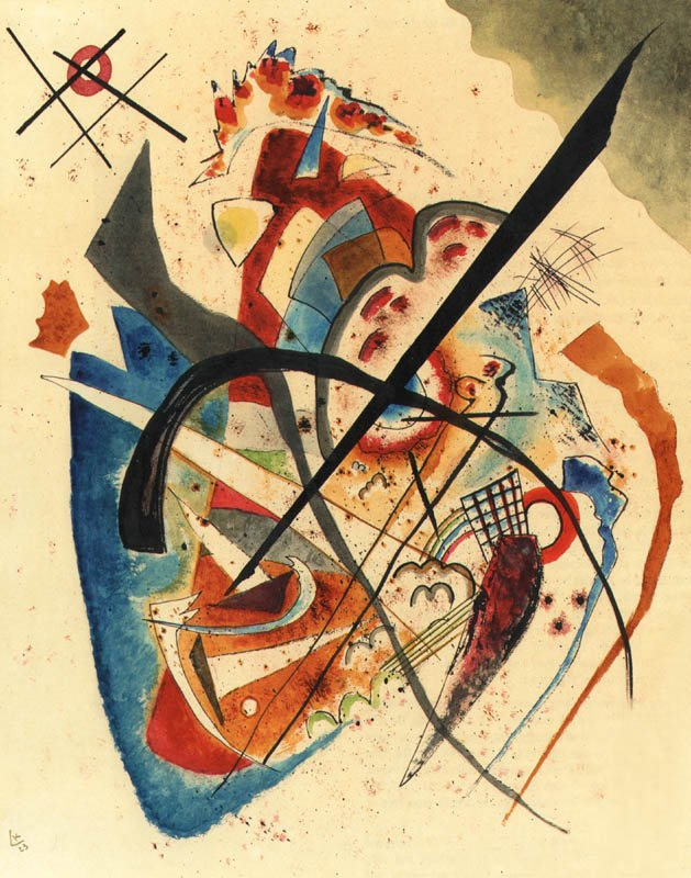 Wassily Kandinsky, Untitled 1923, Giclee Limited Edition