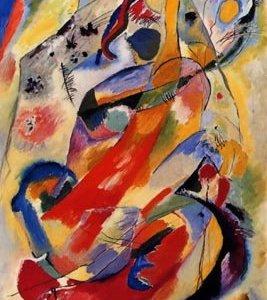 Kandinsky, Panel 1, Giclee Limited Edition
