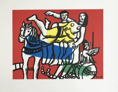 """Leger """"Le Cirque"""" Lithograph 19.5 x 25.50"""""""