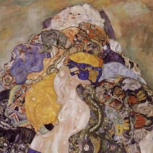 """Klimt """"Baby"""" L.E & numbered Giclee"""