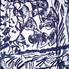 "Riopelle Jean-Paul Original Lithograph ""DM15232"""