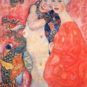 "Klimt ""Girl friend"" L.E & numbered Giclee"