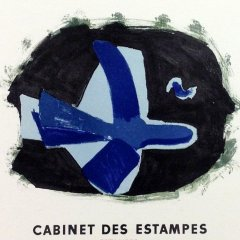 "Braque 11 ""Oeuvre graphique"" Mourlot 1959 Art in posters"