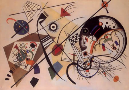 Wassily Kandinsky, Unbroken lines, Giclee Limited Edition