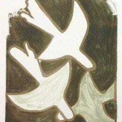 """Braque 10 """"Sur quatre murs"""" Mourlot 1959 Art in posters"""