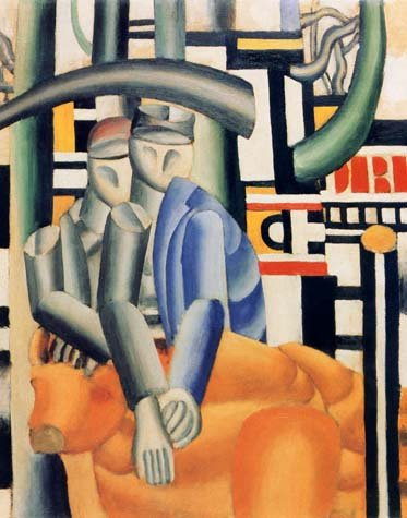 "Leger ""Les marchants des beoufs"" L.E & numbered Giclee"