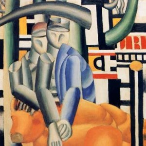 Leger, Les Marchants des Beoufs, Numbered Giclee