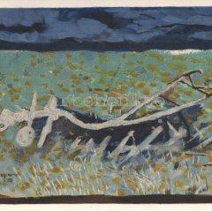 """Braque """"Le Charrue 1959"""" Lithograph 1968"""