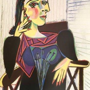 """Picasso Poster """"Portrait de Dora Maar"""""""
