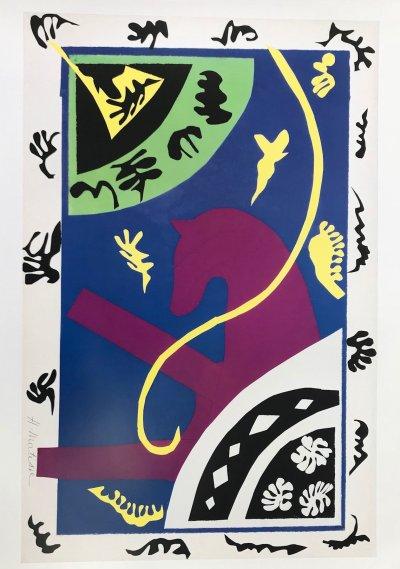 Matisse Poster Le cheval l'ecuyere et le clown