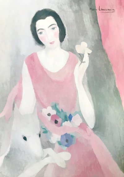 """Laurencin Marie Poster """"Mme Paul-Guillaume"""""""