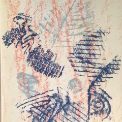 Book Revue  XX Siecle No. 23,  Cover is Lithograph by Max Ernst,  Surrealism, Modern