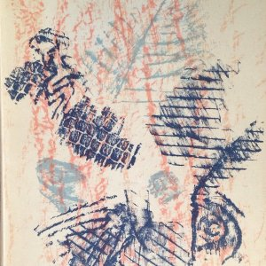 Book XX Siecle 1964 No. 23, Cover is Lithograph by Max Ernst