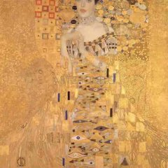 "Klimt ""Portrait of Adele 1"" L.E & numbered Giclee"