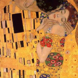 """Klimt """"The kiss"""" L.E & numbered Giclee"""