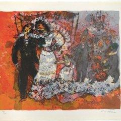 "Tobiasse ""Ma colombe fiancee"" Original Lithograph 93/150"