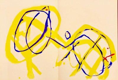 """Tal-Coat Original Lithograph """"DM04131"""" DLM 1962"""