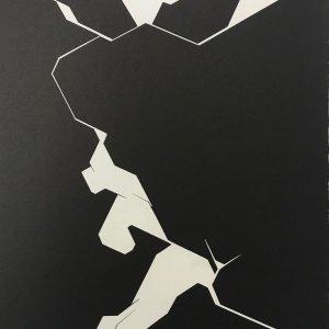 Pablo Palazuelo, Lithograph DM02207, Derriere le Miroir 1974
