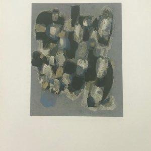 Ubac, Lithograph DM06130, Derriere le Miroir 1961