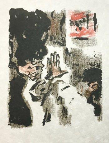 Alexandre Garbell Lithograph 5, Mourlot 1962