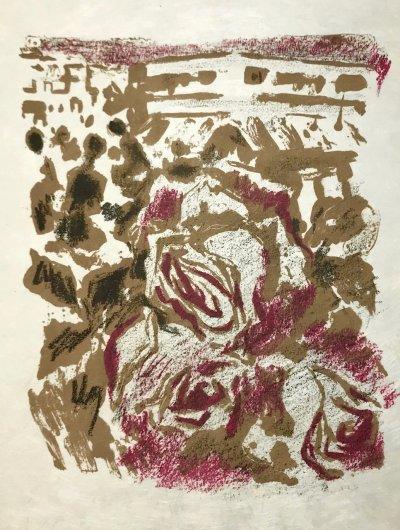 Alexandre Garbell 8, Original Lithograph 1962 Mourlot