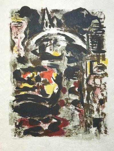 Alexandre Garbell 15, Original Lithograph 1962 Mourlot