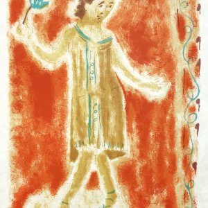 Jules Cavailles Original Lithograph 1962, Mourlot