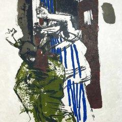 "Paul Guiramand ""6"" Original Lithograph 1962, Mourlot"