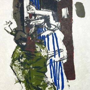 Paul Guiramand, Lithograph 1962, Untitled 6