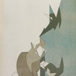 Andre Beaudin Original Lithograph 2, 1961