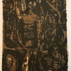 "Paul Guiramand ""11"" Original Lithograph 1962, Mourlot"