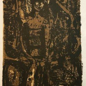 Paul Guiramand, Lithograph 1962, Untitled 11