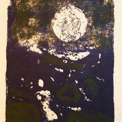 "Paul Guiramand ""13"" Original Lithograph 1962, Mourlot"