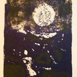 Paul Guiramand, Lithograph 1962, Untitled 13