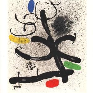 1971 Miro Lithograph DM01195, Derriere le Miroir