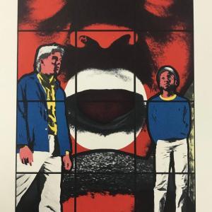 1988 Georges & Gilbert Original Lithograph N4-3