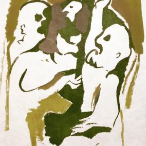 Francisco Bores Original Lithograph, untitled 14 1962