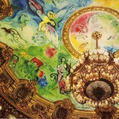 Ceiling of Paris Opera