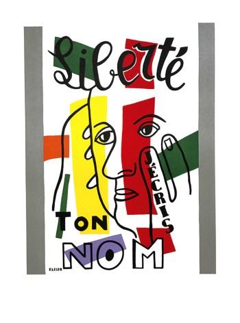 Fernand Leger, Liberte, Lithograph by Maeght