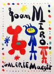 Miro Lithograph 52,Art in Posters