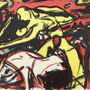 Max Kaminski, Original Lithograph N4-2d, 1988