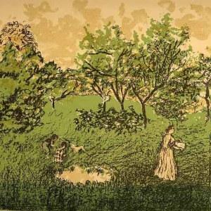 Pierre Bonnard Lithograph 95, Le Verger 1952