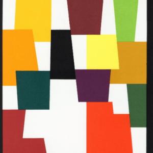 Agam Yaakov, Original Lithograph 1, XX siecle 1980