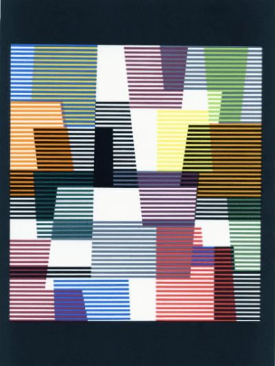Agam Yaakov Original Lithograph 2, XX siecle 1980