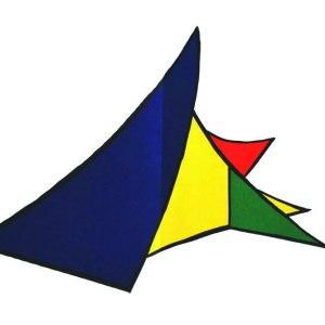 Calder, Original Lithograph, DM26141d, Derriere le Miroir 1963